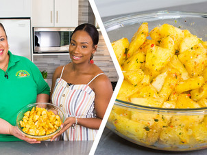 How To Make Trini Pineapple Chow