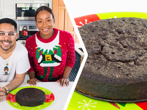 How To Bake A Trini Black (Fruit) Cake