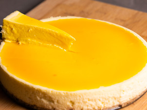 Passion Fruit Cheesecake Recipe by Chef Jeremy Lovell