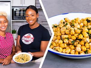 How To Make Trini Fried Channa (Chickpeas Snack)