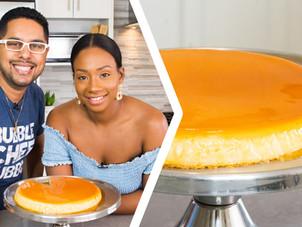 How To Make A Coconut Cream Cheese Caramel Flan/Crème Caramel