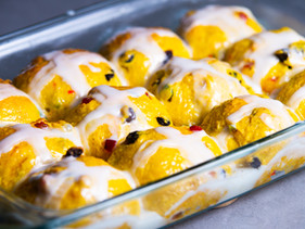 Hot Cross Buns Recipe presented by Chef Jeremy Lovell