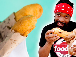 Beef, Fish and Aloo Pies at Tina Pie in Woodbrook, T&T | Foodie Finds