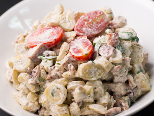 Green Fig Pecan Chicken Salad Recipe