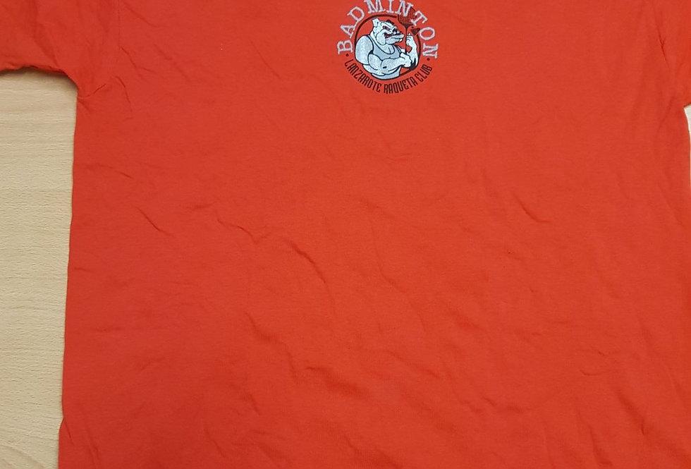 Camiseta Roja (B) Algodón