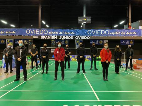 Representación conejera en el cuerpo arbitral del Spanish Junior International.
