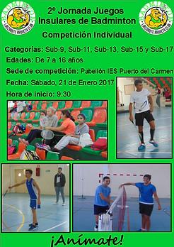 Juegos Insulares Promoción Deportiva Lanzarote Badminton