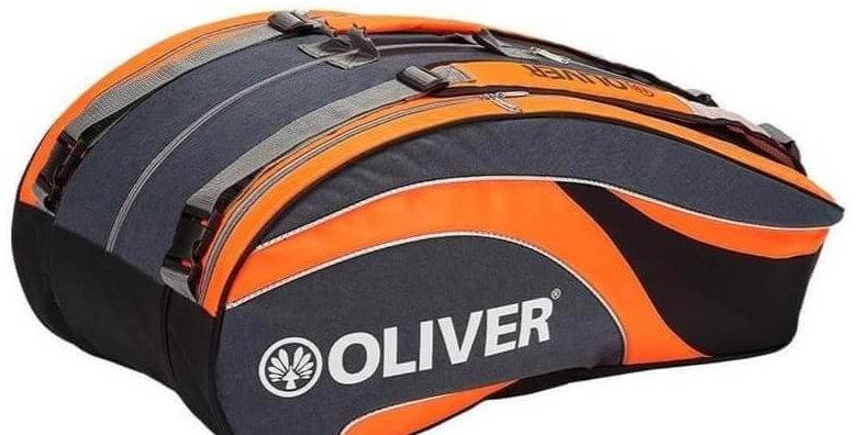 Raquetero Triple Bag - Naranja