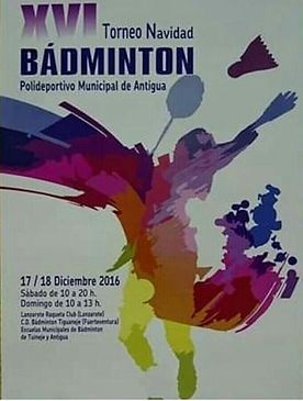 Torito Manolito - Physiorelax - Badminton Canarias