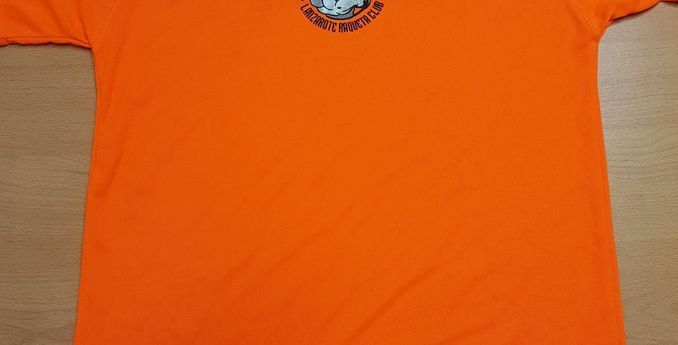 Camiseta Naranja Polyester