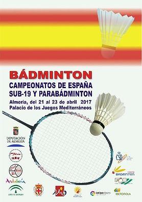 Campeonato de España Sub-19 y Parabadminton Badminton - Almería