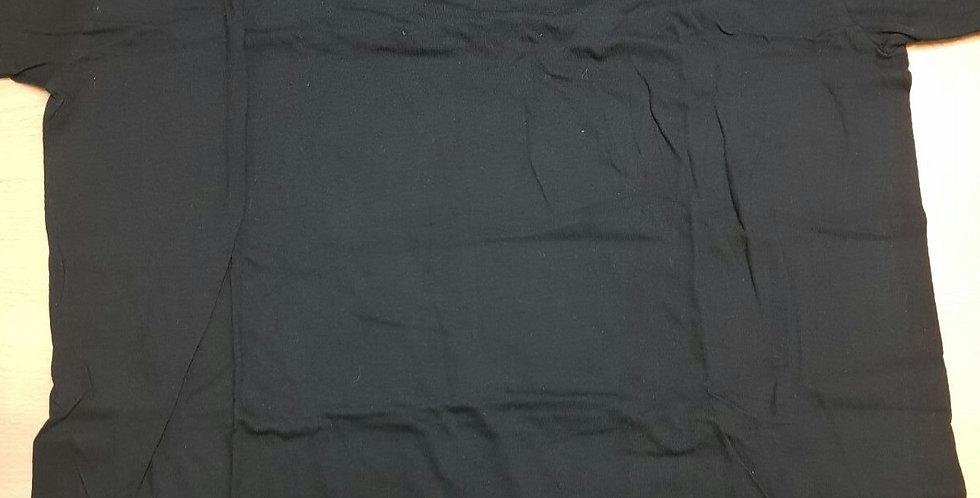 Camiseta Negra (B) Algodón