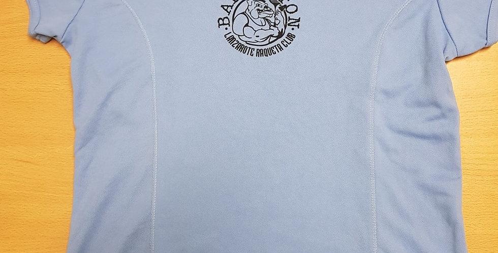 Camiseta Azul (B) Polyester