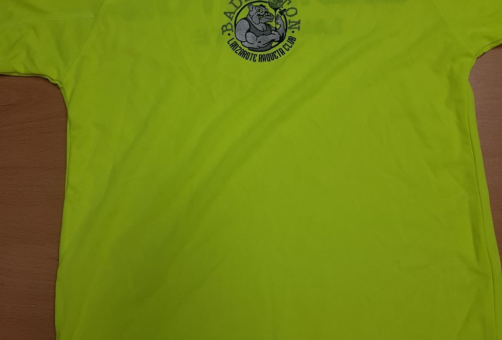 Camiseta Amarilla Polyester