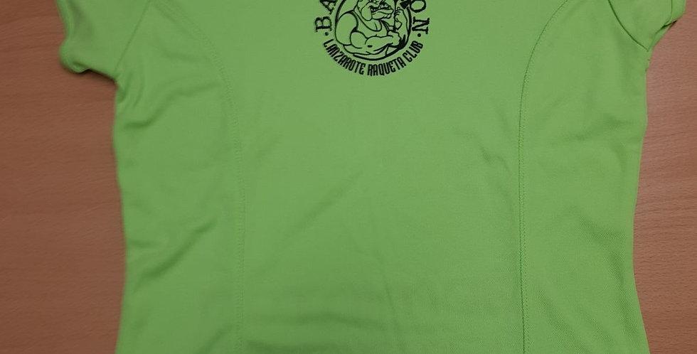 Camiseta Verde Polyester