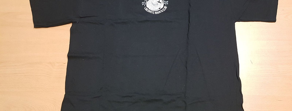 Camiseta Negra (A) Algodón