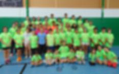 Torneo de Navidad Badminton Antigua 2016