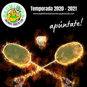 Nueva Temporada 2020 - 2021