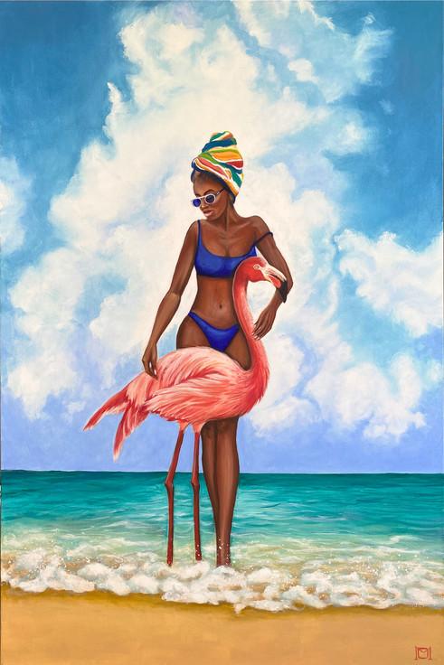 Venus with Flamingo