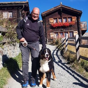 Zara in Zermatt - Urlaub mit Serge