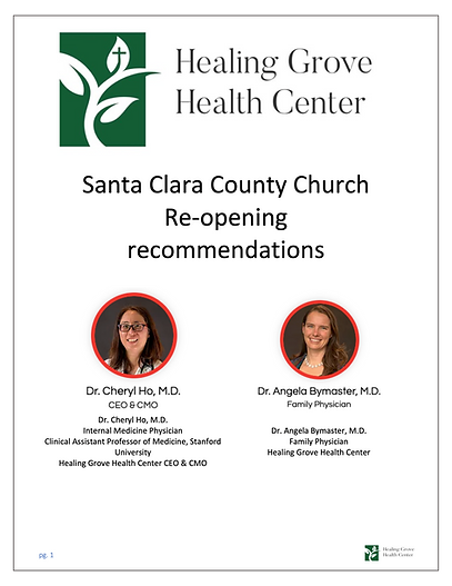 HGHC Church Reopening Recommendations.pn