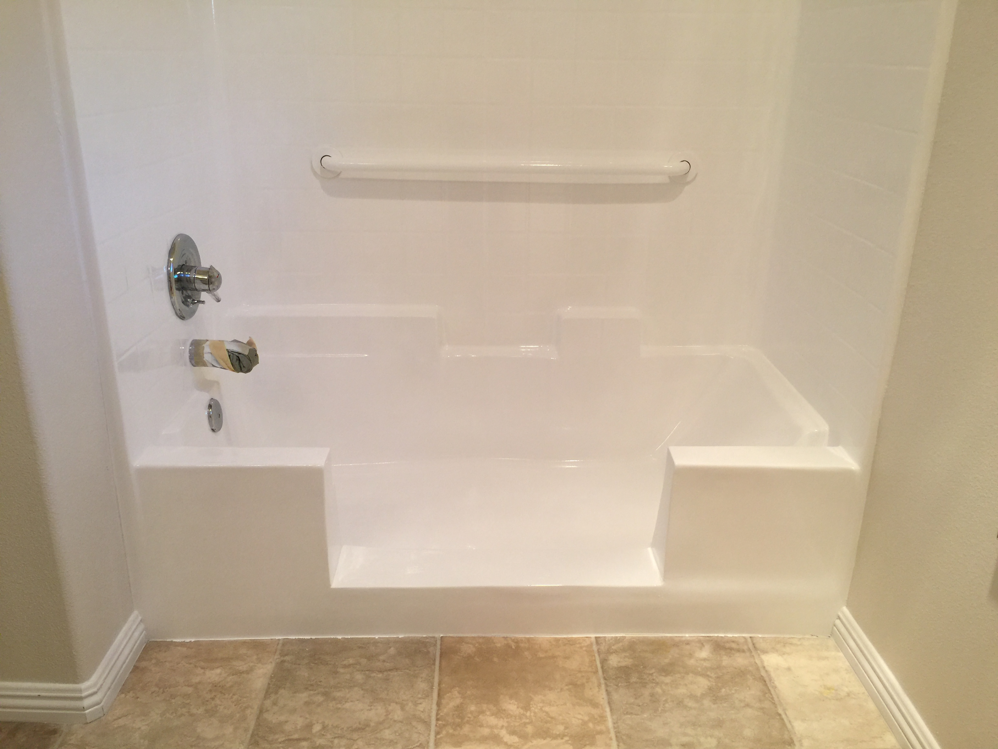 Tub to Shower Conversion After
