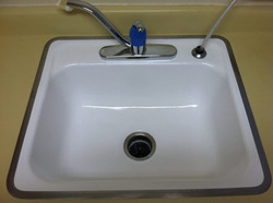 Sink Refinish After