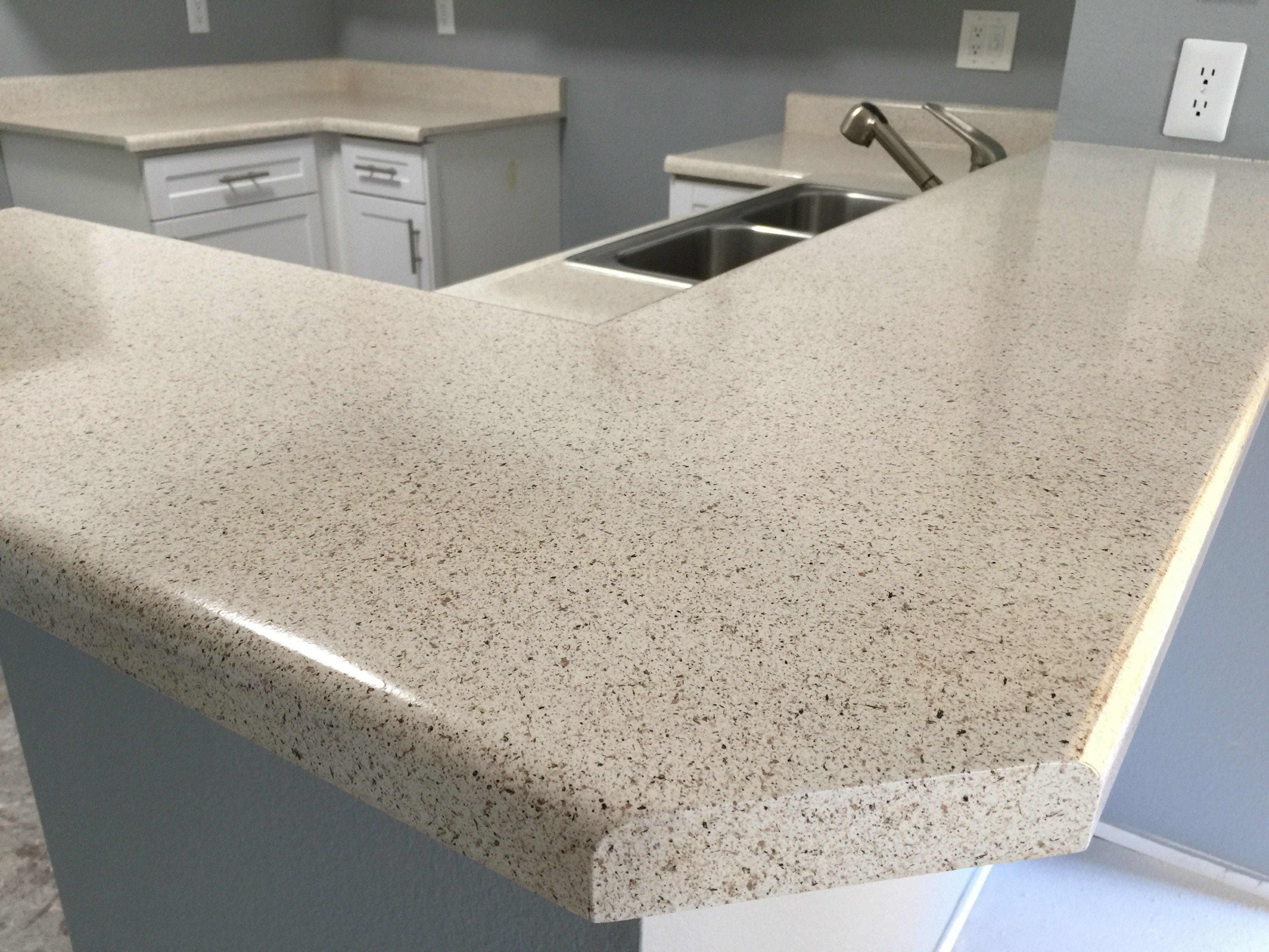 Kitchen Counter Spec-Tone
