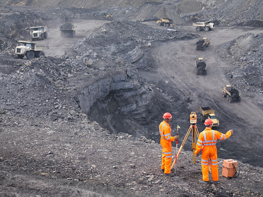 miners working