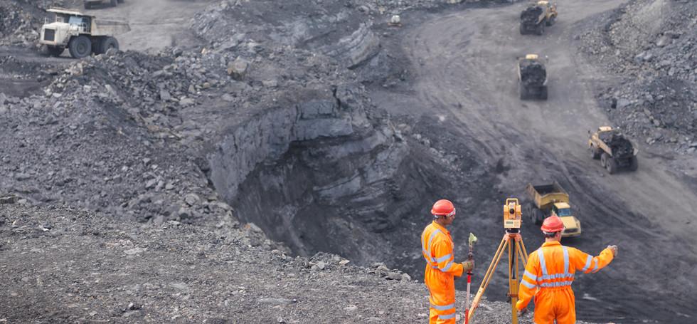 Bergvermessung Massenberechnung
