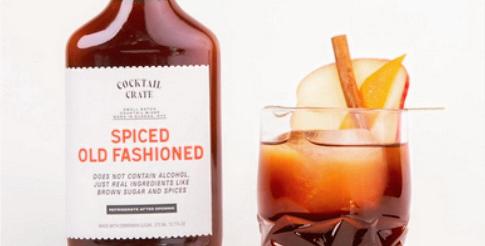 Spiced Old Fashioned Cocktail Mixer