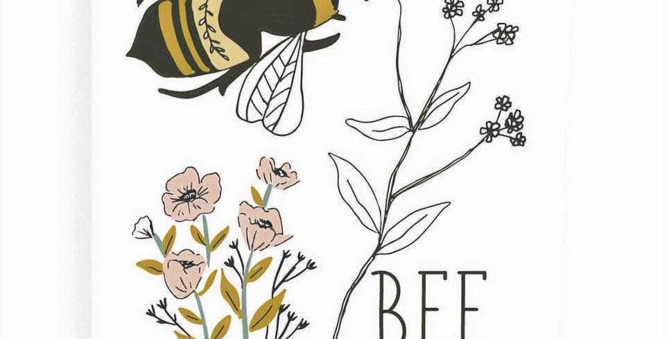 Bee Happy Flour Sack Towel