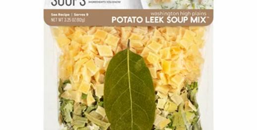 Washington High Plain Potato Leek Soup