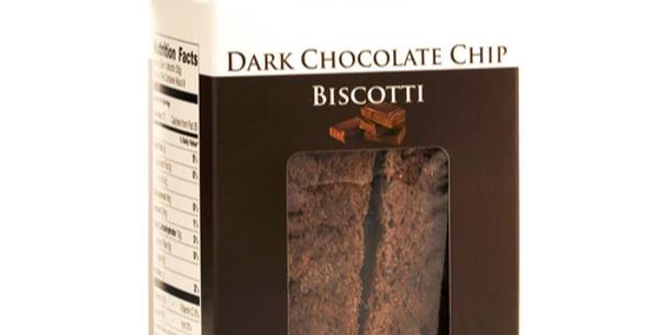 Dark Chocolate Chip Biscotti