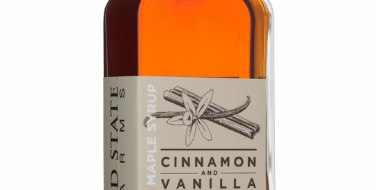 Cinnamon Vanilla Infused Pure Maple Syrup