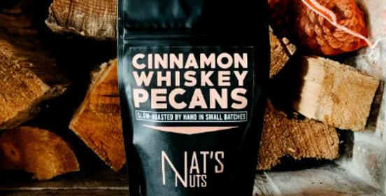 Cinnamon Whiskey Pecans