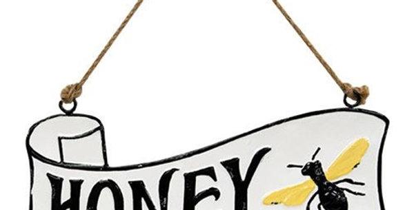 Honey For Sale Hanging  Sign