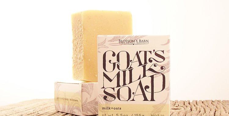 Milk & Oats Goat's Milk Soap