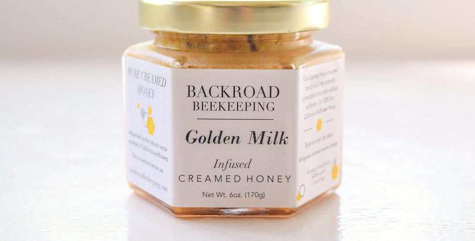Golden Milk Creamed Honey