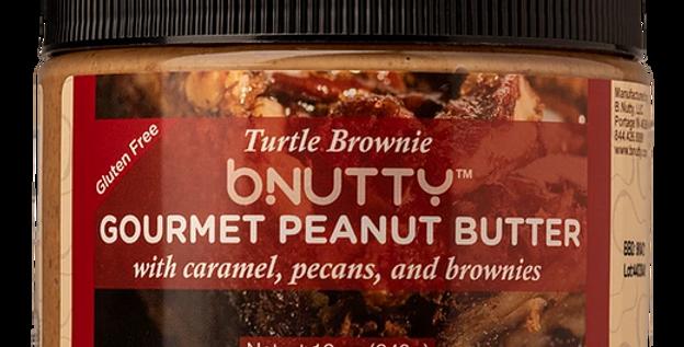 Turtle Brownie Gourmet Peanut Butter