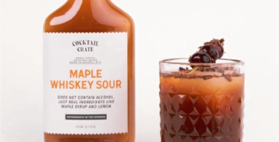 Maple Whiskey Sour Cocktail Mixer