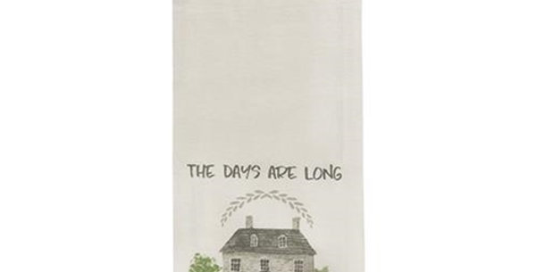 Years are Short Dish Towel