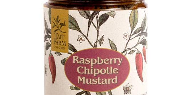Raspberry Chipotle Mustard