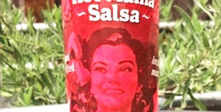 Hot Mama Peach Lavender Habanero Hot Sauce