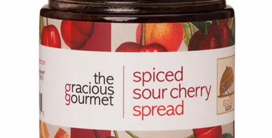 Spiced Sour Cherry Spread