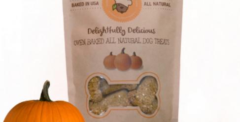 Organic Pumpkin Dog Treats