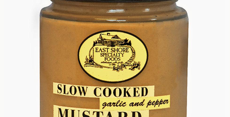 Garlic & Pepper Dipping Mustard