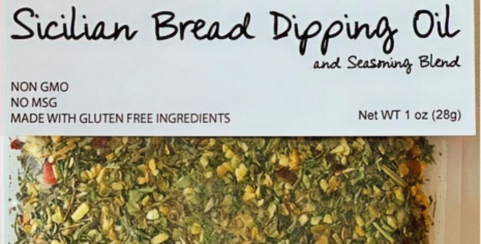 Sicilian Bread Dipping Oil & Seasoning Blend
