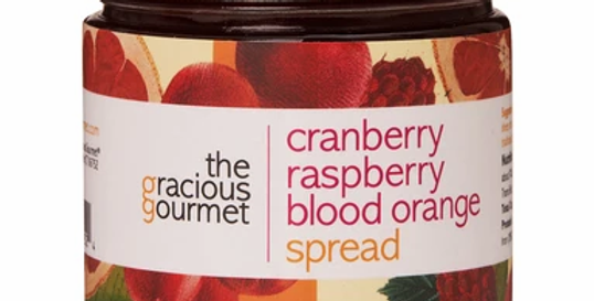 Cranberry Raspberry Blood Orange Spread