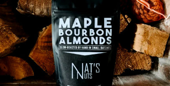 Maple Bourbon Almonds